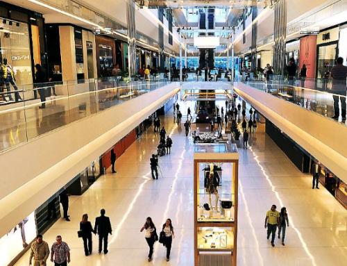 Fluxo de visitantes em shoppings sobe 2,6%