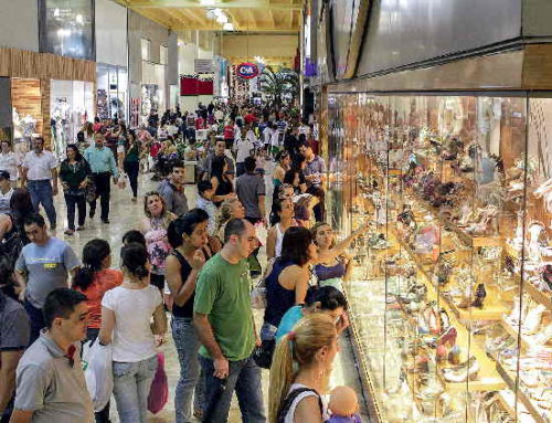 Fluxo nos shopping centers tem ligeira alta em setembro