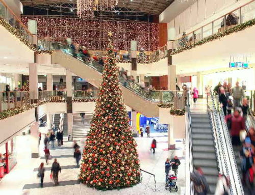 Shoppings têm maior fluxo de visitantes em dezembro