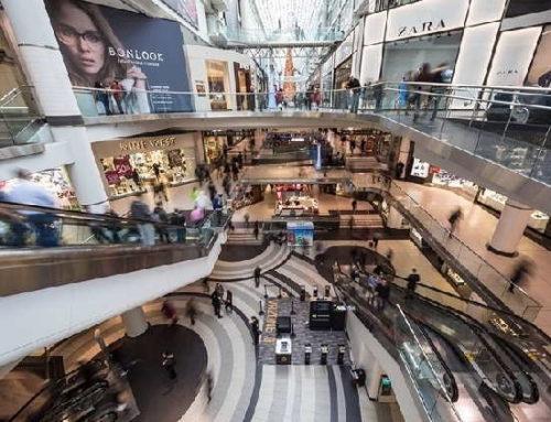 Fluxo em shopping centers registra alta de 3,6% em 2019